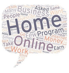 How Can You Earn Money From Home text background vector image
