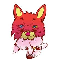 Hungry Fox vector