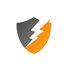 lightning 1 vector image