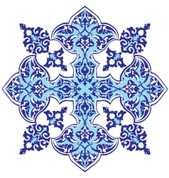 Oriental ottoman design thirty one version vector
