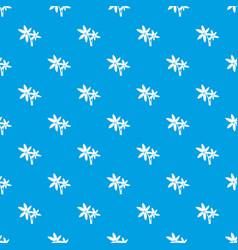 Palma pattern seamless blue vector