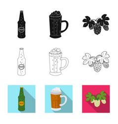 pub and bar icon vector image