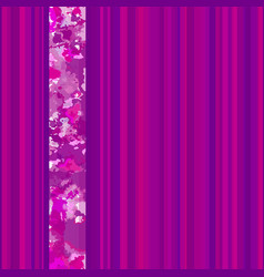 seamless vertical lines pattern pink vector image