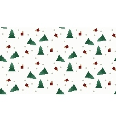 seamless wrap christmas pattern for gift vector image