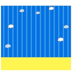 Sky Wallpaper Pattern vector image