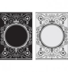 star frames vector image