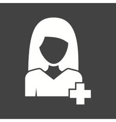 Woman in Medicine vector
