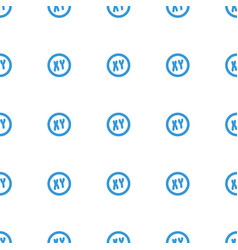 xy icon pattern seamless white background vector image