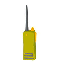 radio transmitter cartoon vector image