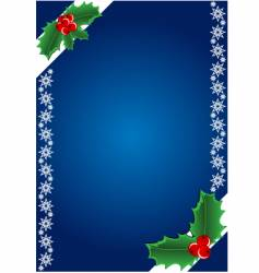 christmas bacground vector image vector image