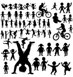 hand drawn children vector image