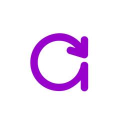 c letter business logo design vector image vector image