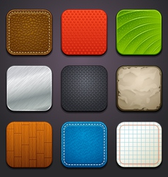Background for app icons-part 4 vector
