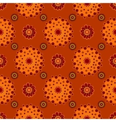 Bright Varicolored seamless pattern background vector image