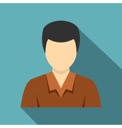 Businessman avatar icon flat style vector