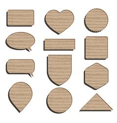 Cardboard icons vector