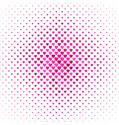heart pattern background - valentines day design vector image