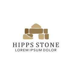 Massage spa stone studio beauty wellness vector