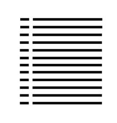 music list icon vector image
