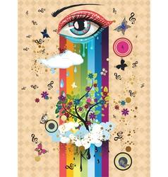Surreal Eye2 vector