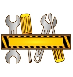Tools technical service icon vector