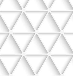 White triangular net seamless vector