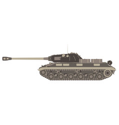 tank military army war icon machine background vector image