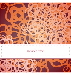 Classic card or invitation for birthday party vector image vector image