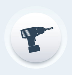 electric screwdriver icon sign vector image