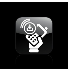 Download phone icon vector