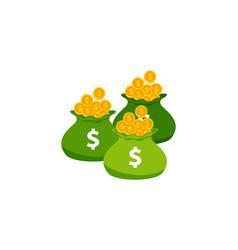 Earn money logo icon design saving money symbol vector