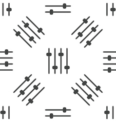 Faders pattern vector image