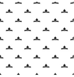 measurement cube pattern seamless vector image