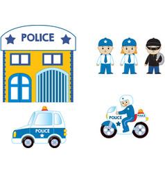 Police department vector