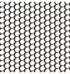 Fish skin repetition texture Modern scale stylish vector image vector image