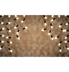 holidays garlands light vector image
