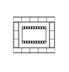 Cinema icon movie theater logo vector image vector image