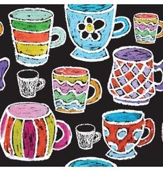 Hand drawn restaurant menu elements vector image vector image