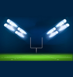 American football gate concept background vector