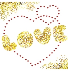 Design card Love vector