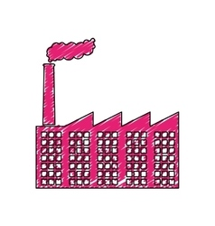 Factory industrial icon image vector