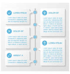 Infographic template banners vector image