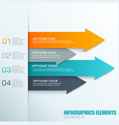 infographics elements concept vector image