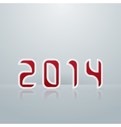 New Year Figures Fourth Embodiment vector image