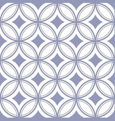 vintage tile pattern seamless vector image