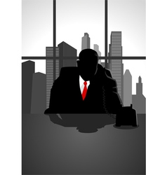 Boss On The Phone vector image