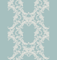 Damask pattern handmade vector