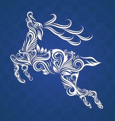 Deer Ornamental vector image vector image