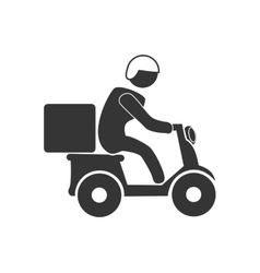 Delivery and logistics graphic design vector