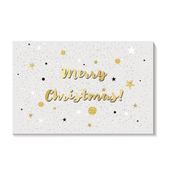 merry christmas greeting cards design vector image